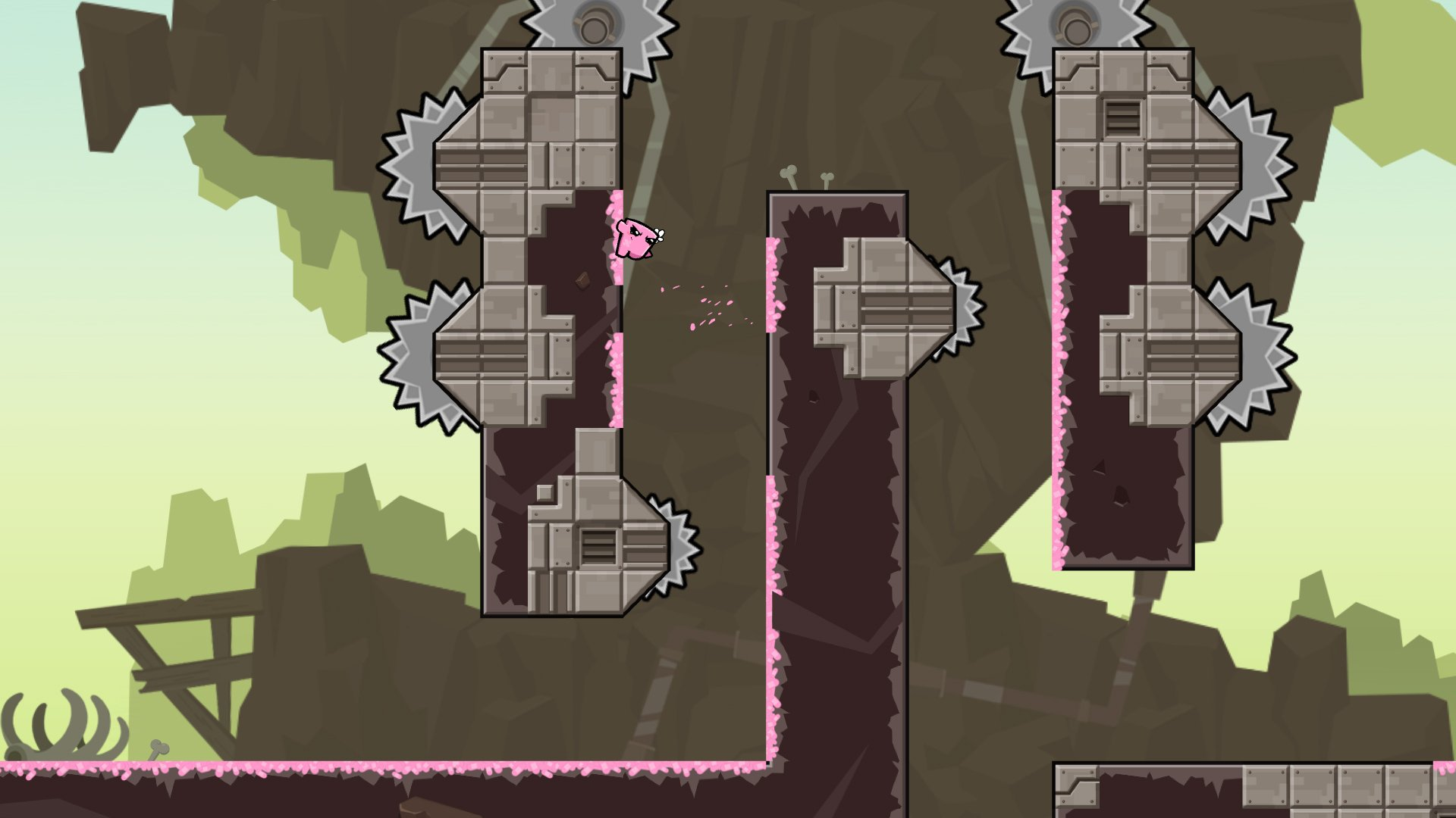 Super Meat Boy Forever is a 'true sequel' due out in 2018 screenshot