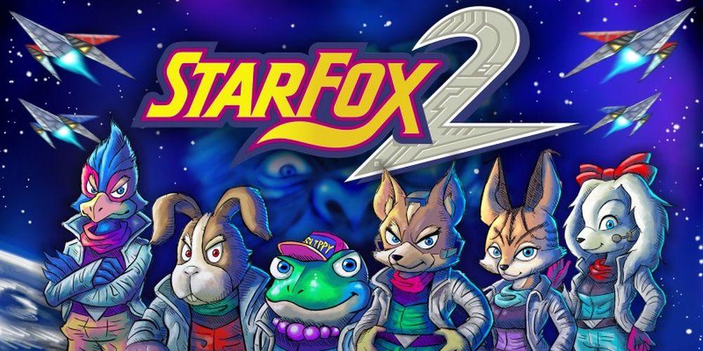 Nintendo reveals Star Fox 2 manual and design documents screenshot