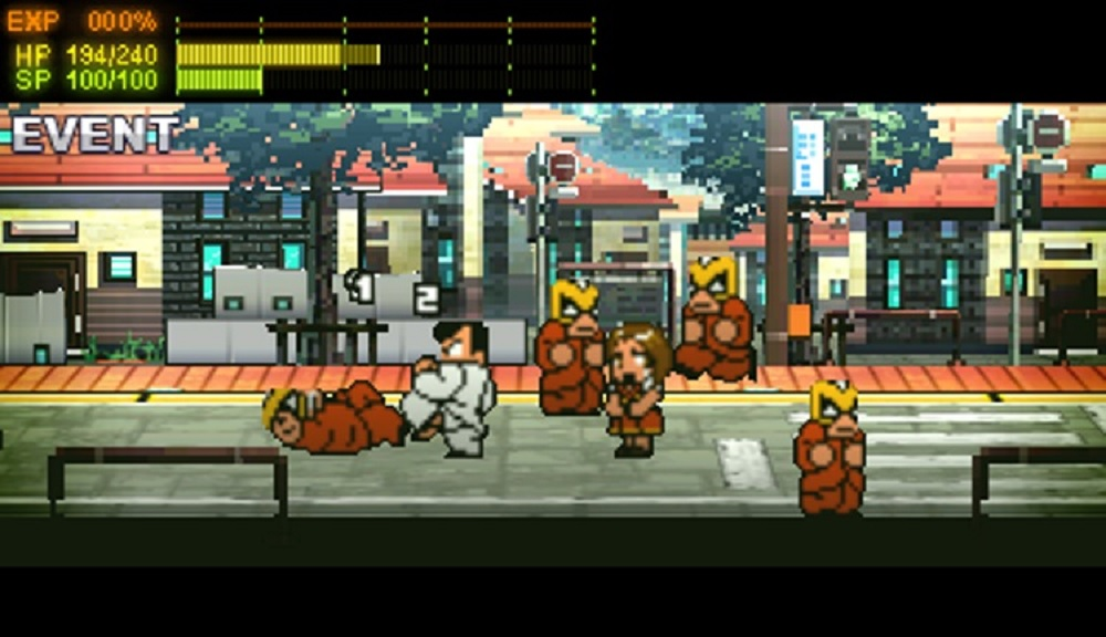 River City: Rival Showdown will be releasing on 3DS this fall screenshot