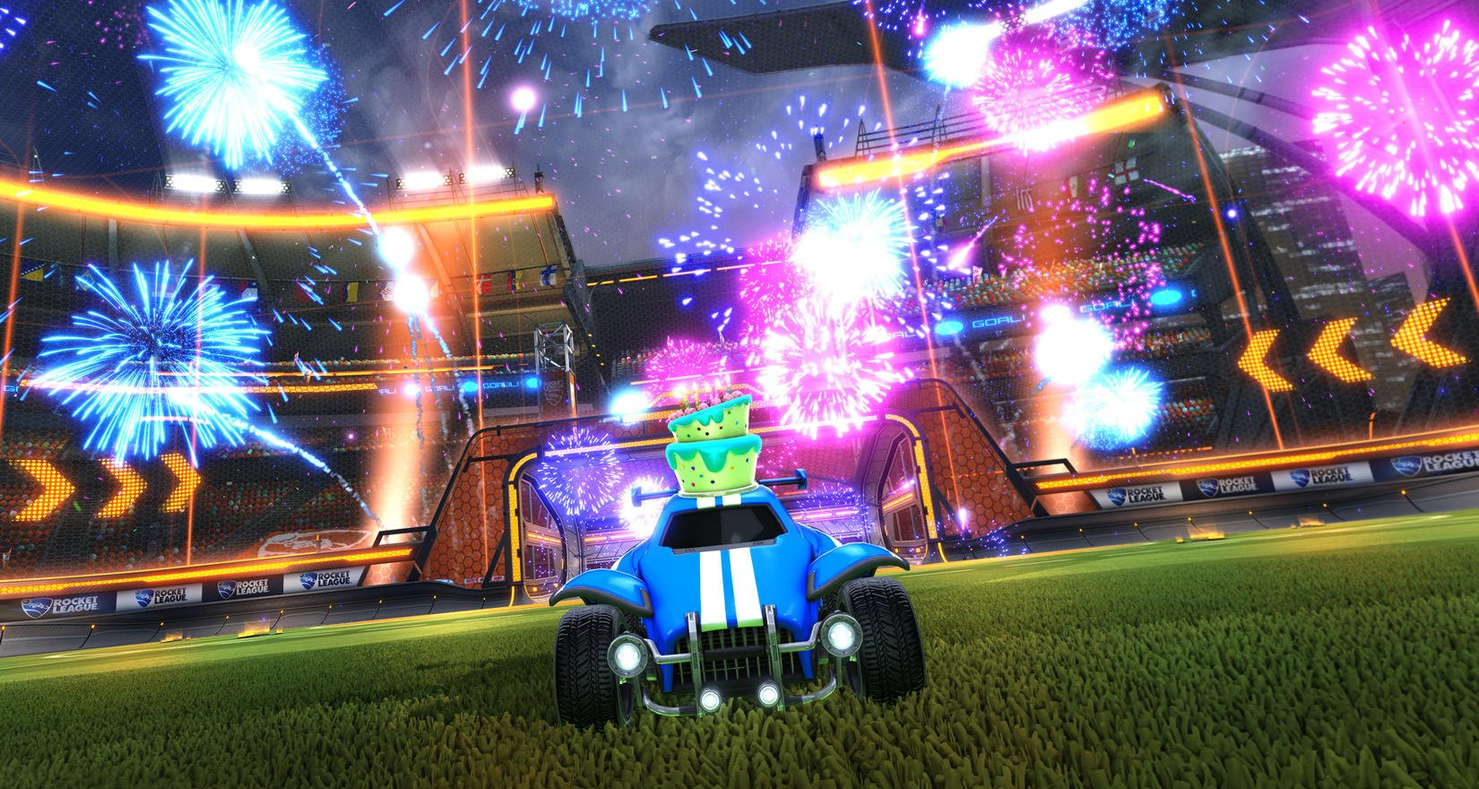 Rocket League's Fall Update is going to be absolutely packed screenshot