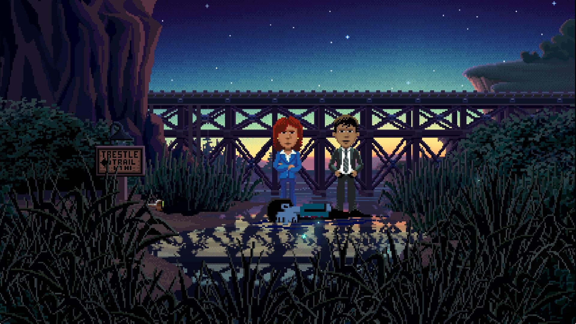Thimbleweed Park is coming to Nintendo Switch next week screenshot