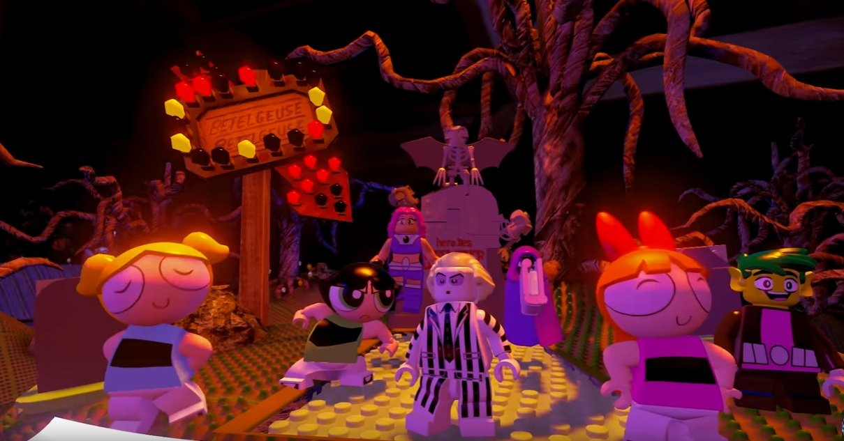 Beetlejuice is back, in LEGO Dimensions form screenshot