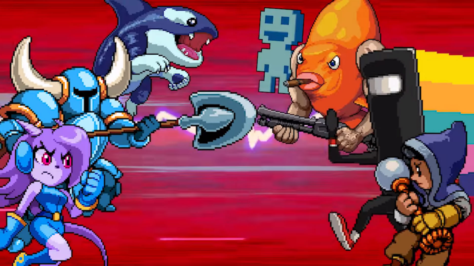 Adorable indie mascot fighter Indie Pogo will make you jump jump screenshot