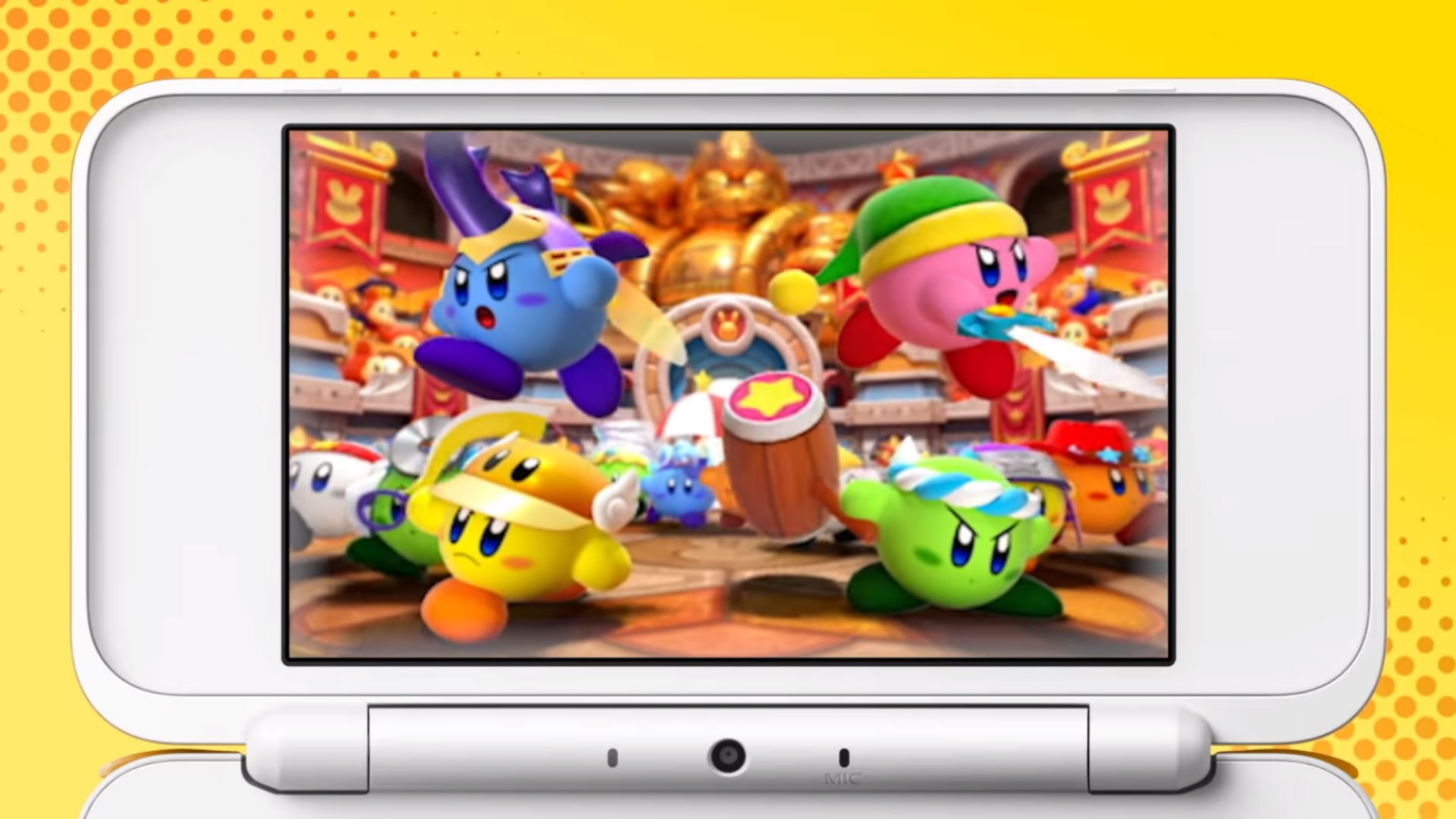 Kirby: Battle Royale coming to 3DS next January  screenshot