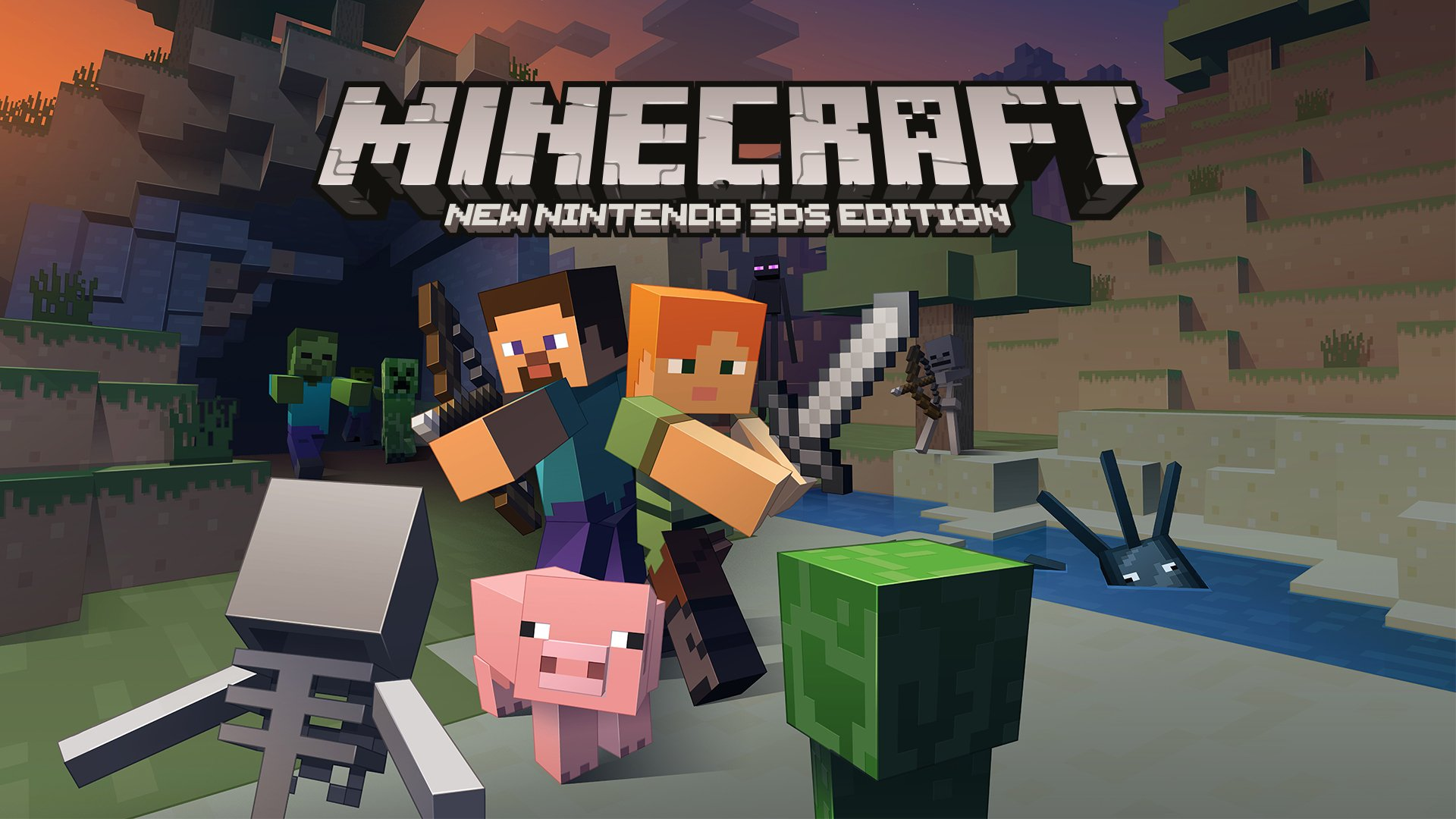Minecraft is coming to New 3DS today