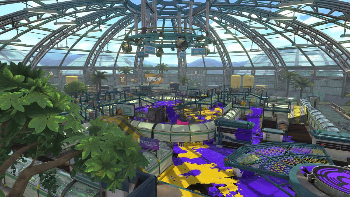 Classic and new arenas coming to Splatoon 2 screenshot