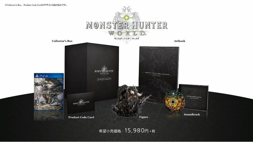 Monster Hunter World Gets Official Release Date, Collector's Edition, PS4 Pro System