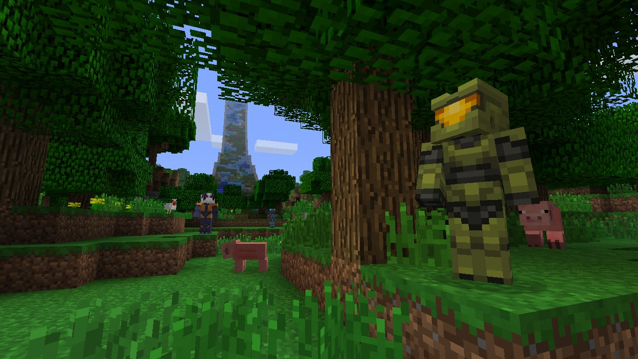 Master Chief Will Finally Grace A Nintendo Console Via Official - Minecraft skins fur die ps3