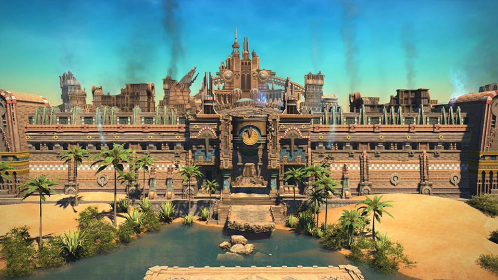 FFXIV's Final Fantasy Tactics dungeon looks perfect screenshot