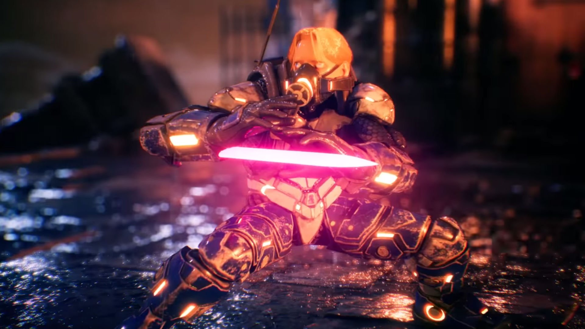 Doctrine Dark joins Arika's still officially untitled, mysterious fighter screenshot