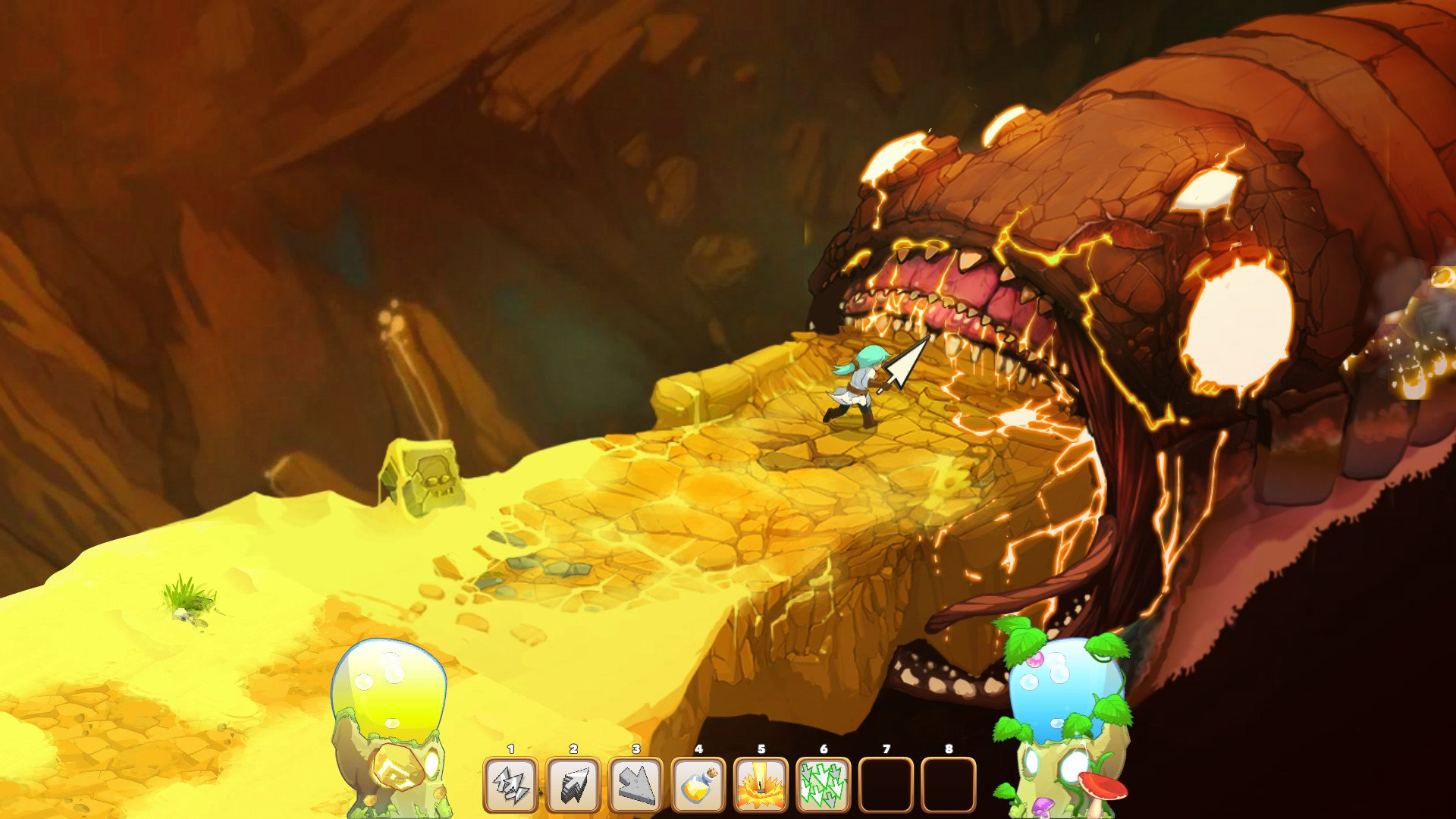 There's going to be a Clicker Heroes 2 screenshot