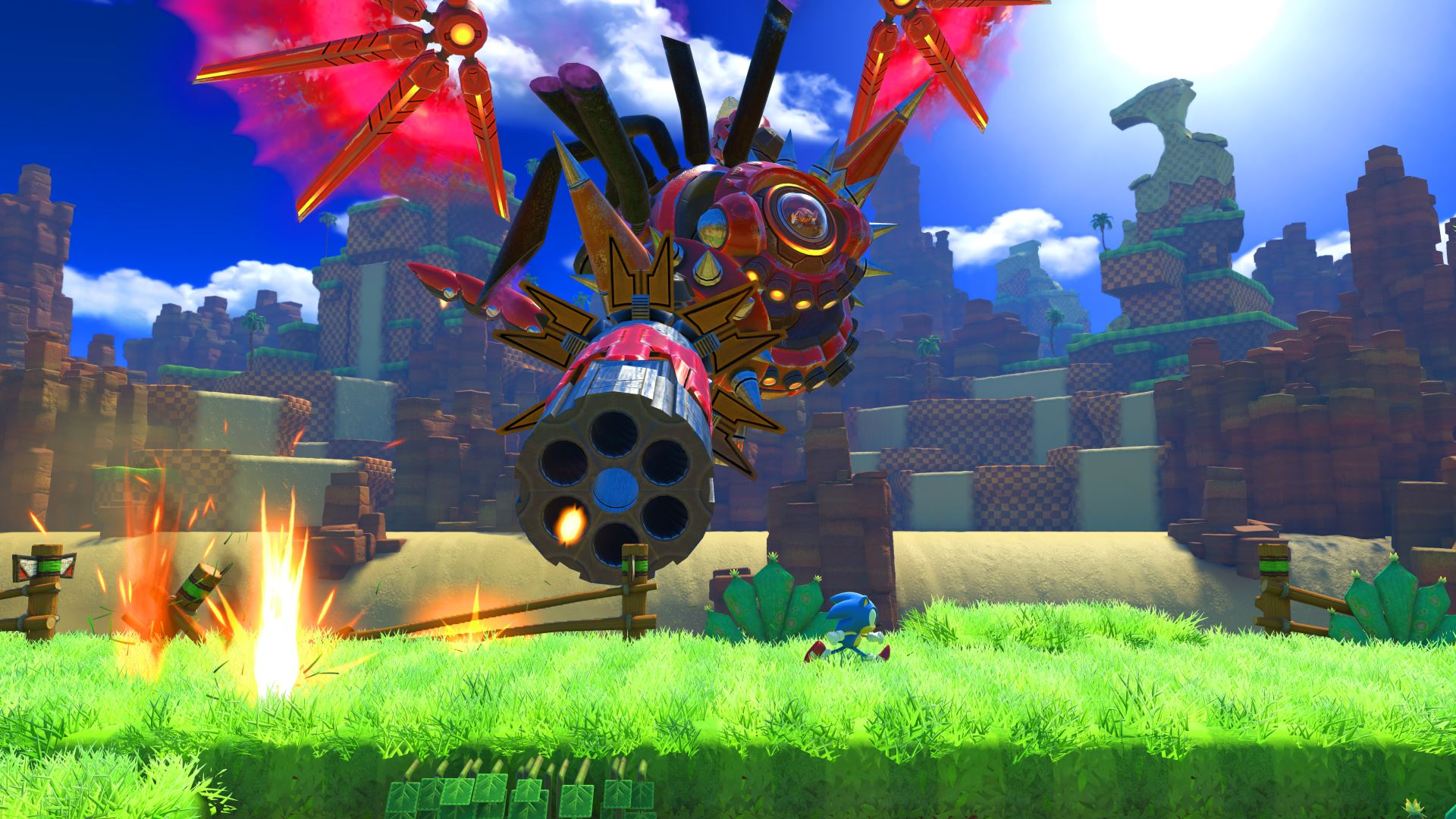 Sonic Forces story trailer shows a world ruled by Eggman screenshot