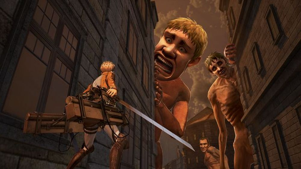 Attack on Titan 2 slated for PS4, Switch, Vita, and PC in Japan screenshot