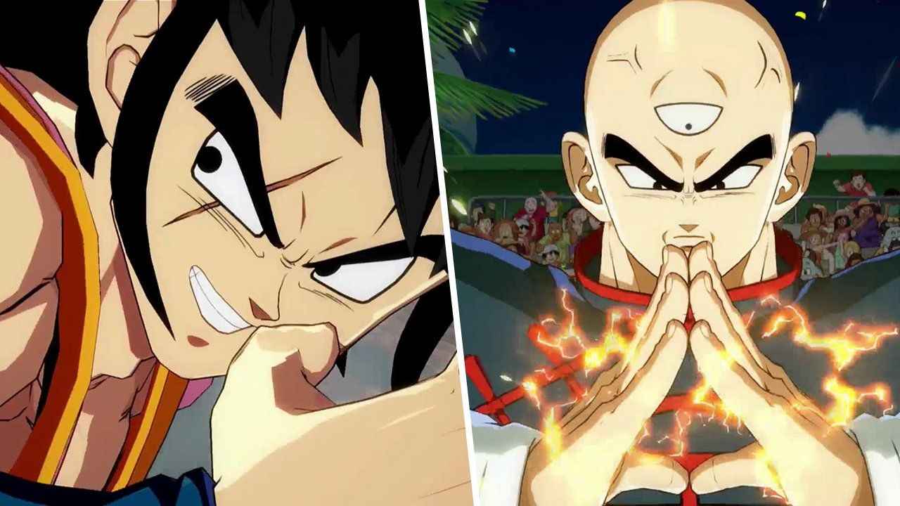 Android 21, Yamcha, and Tien tag in for Dragon Ball FighterZ screenshot