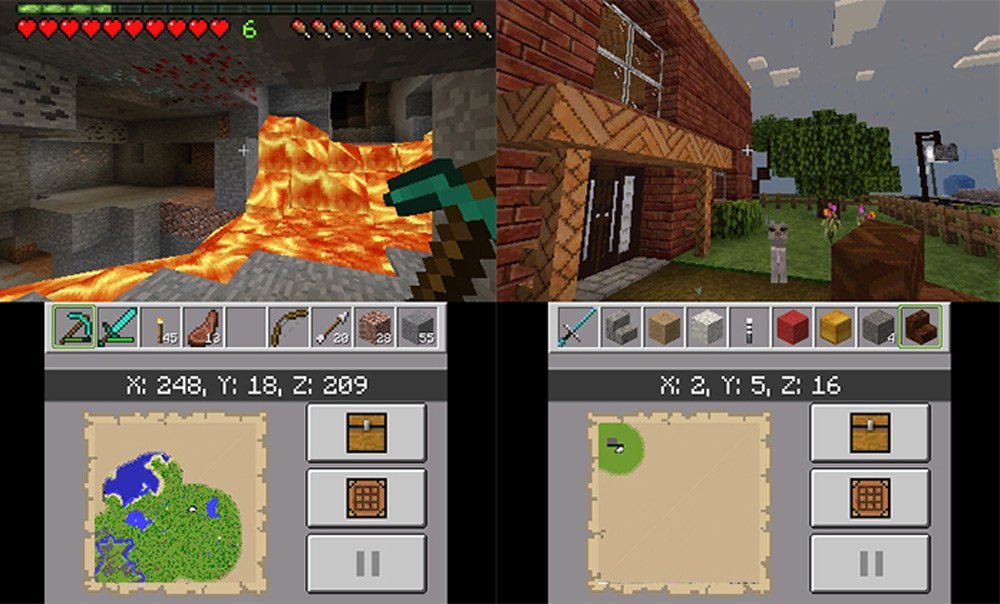 Minecraft 3DS review