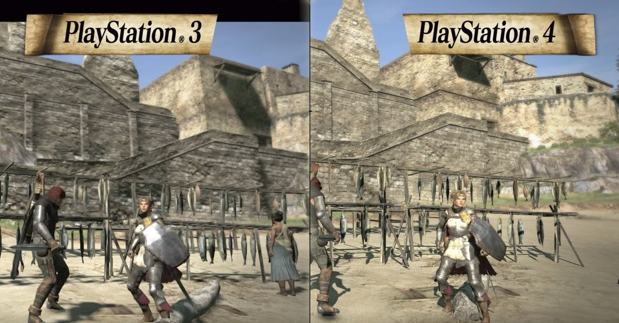 See How Dragon S Dogma Stacks Up Upgrading From Ps3 To Ps4