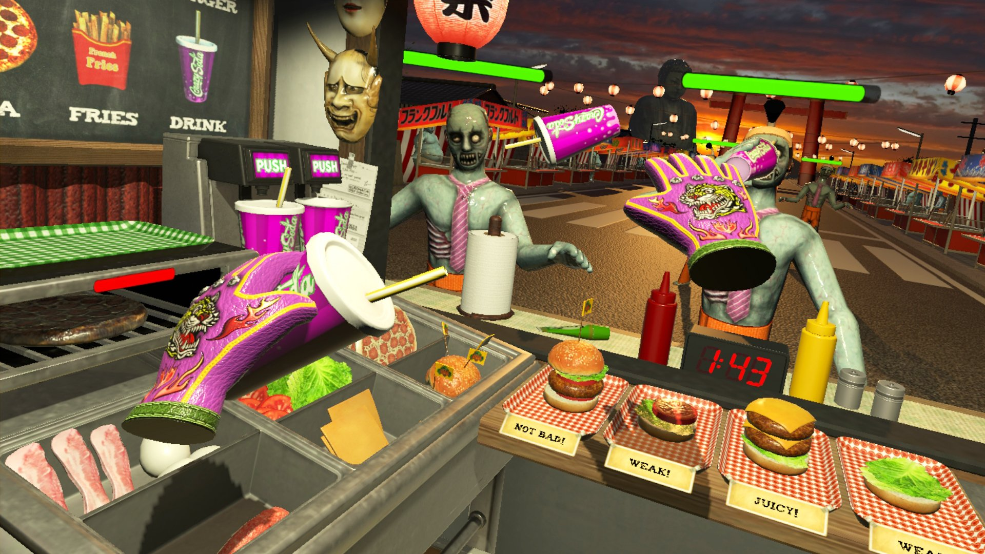Q-Games is bringing Dead Hungry to PlayStation VR screenshot