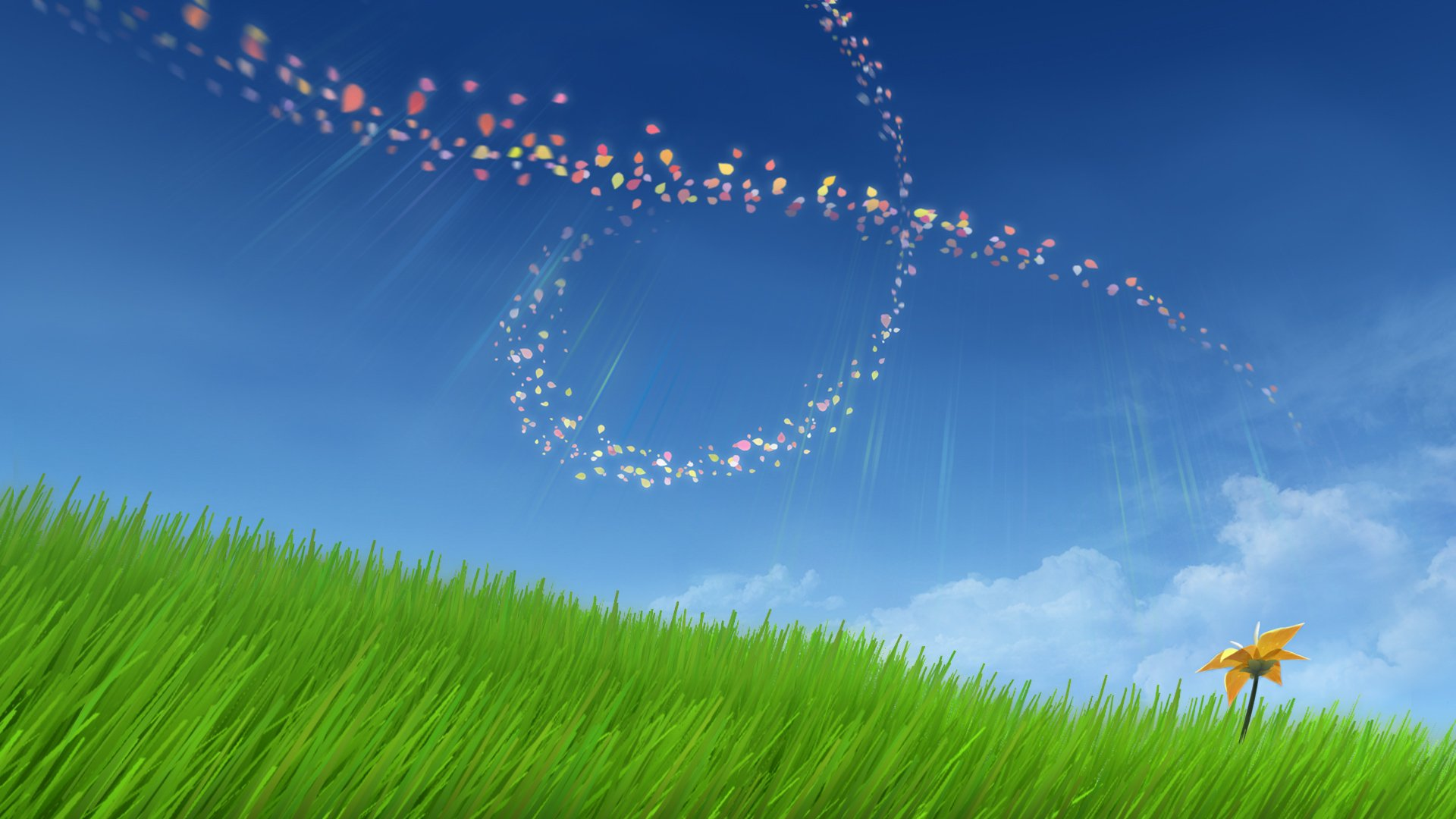 thatgamecompany's serene Flower is now on iOS screenshot