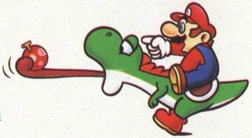 Mario Has Been Punching Yoshi Since the SNES Days, Nintendo Confirms
