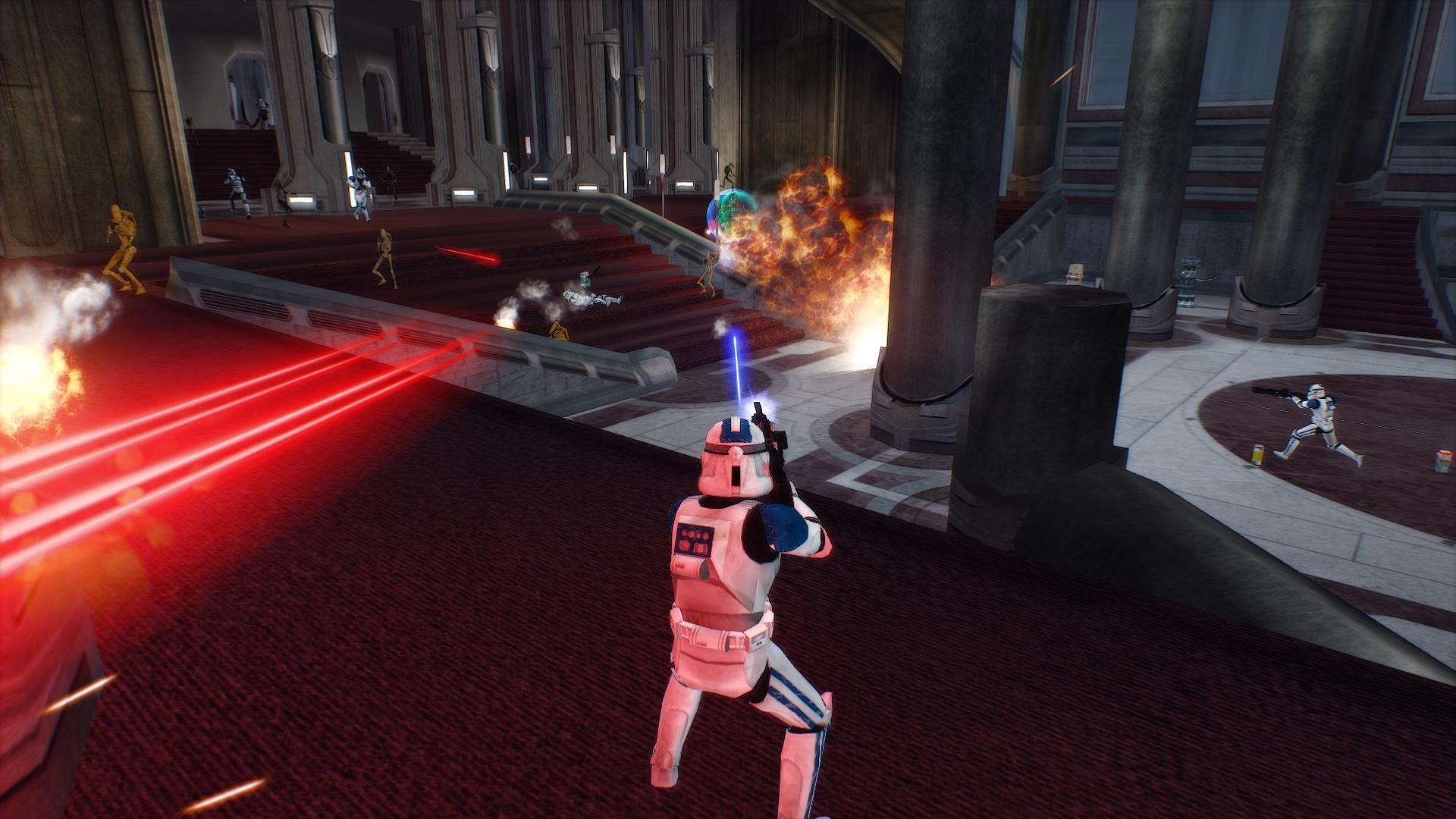 Gog S Bringing Multiplayer Back For 2005 S Star Wars Battlefront Ii