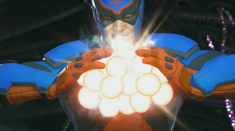 The Atom looks like a troublesome little bastard in Injustice 2 screenshot