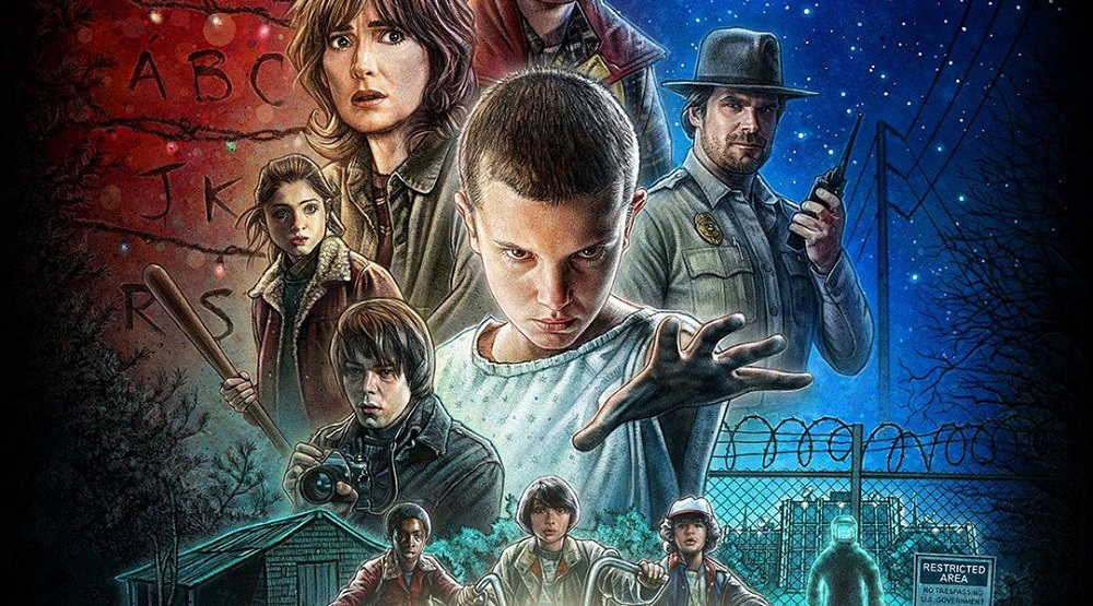 Free retro styled Stranger Things game available on iOS and Google Play screenshot