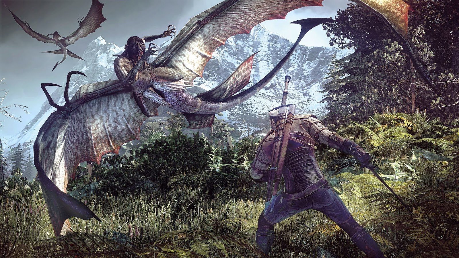 The Witcher 3's 4K update for PS4 Pro is here screenshot