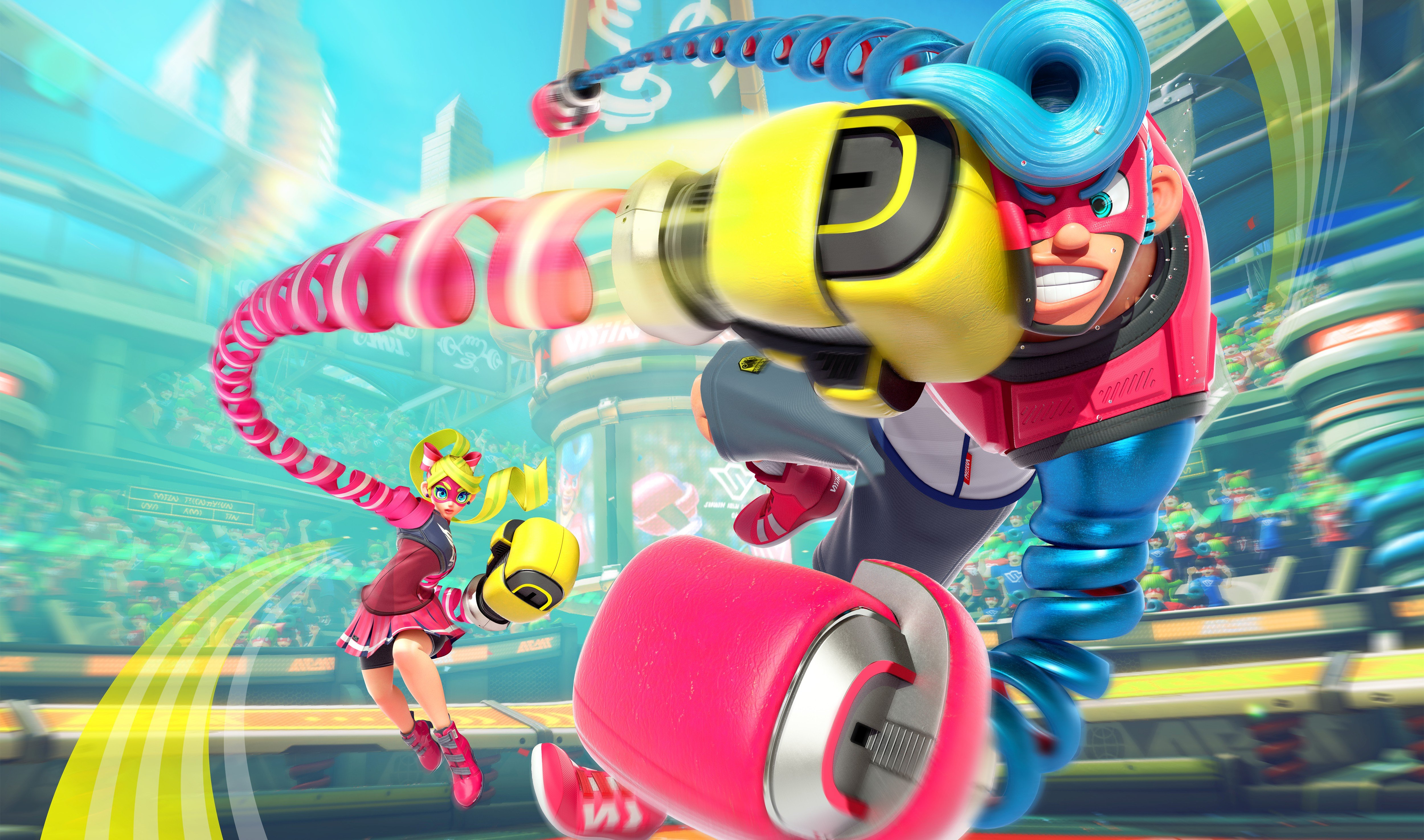 Nintendo's ARMS is getting a series of graphic novels screenshot