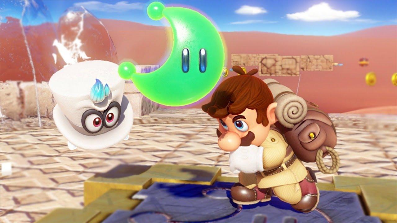 Super Mario Odyssey's amiibo content will be unlockable