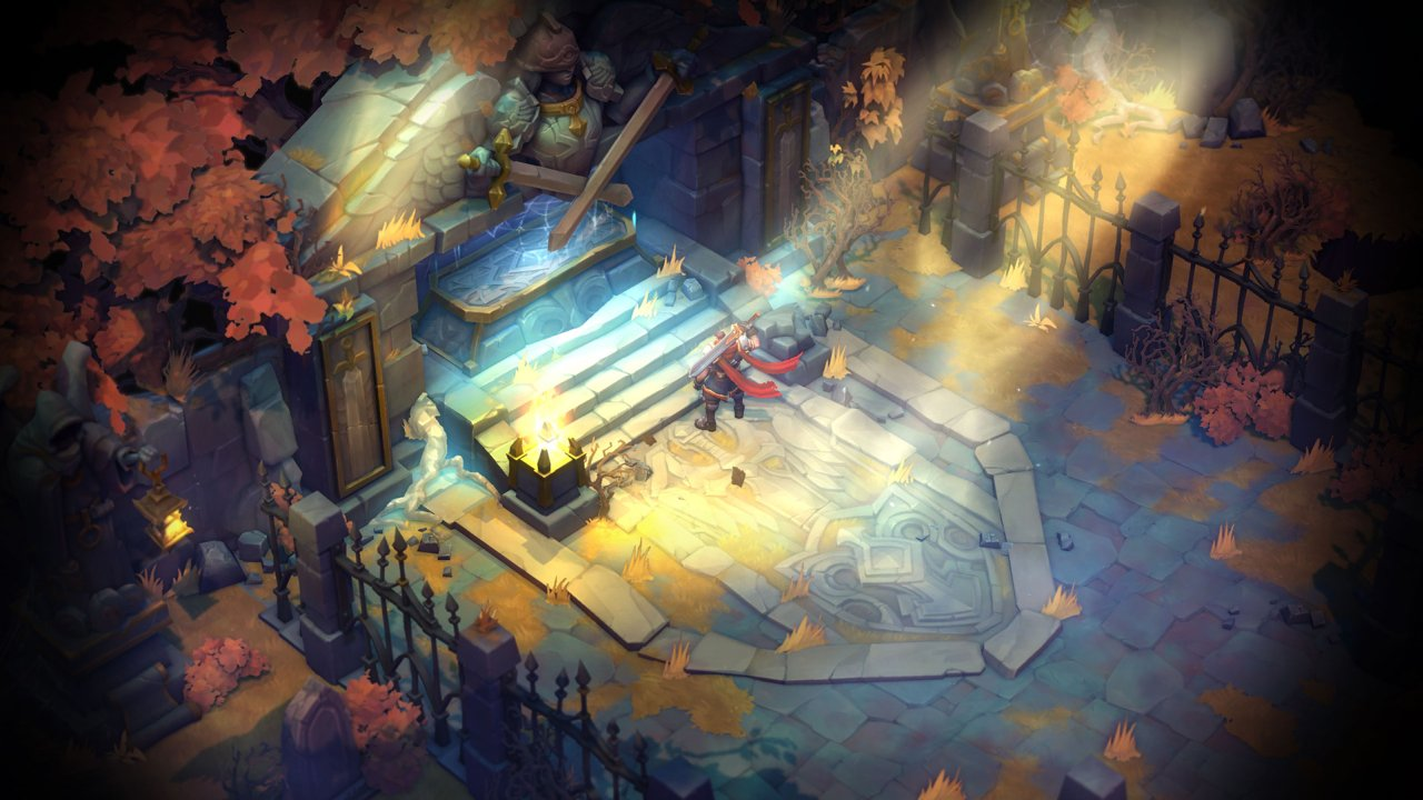 Review: Battle Chasers: Nightwar screenshot
