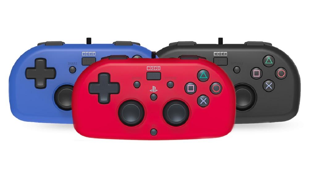Hori's cute PS4 controller looks like a relative of the Joy-Con screenshot
