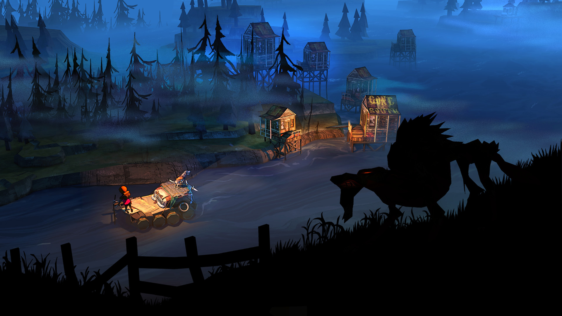 Nintendo Download: The Flame in the Flood screenshot