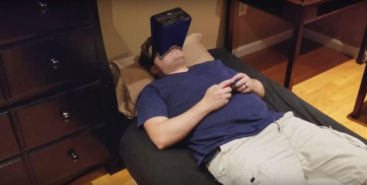 The laziest way to play Nintendo Switch screenshot
