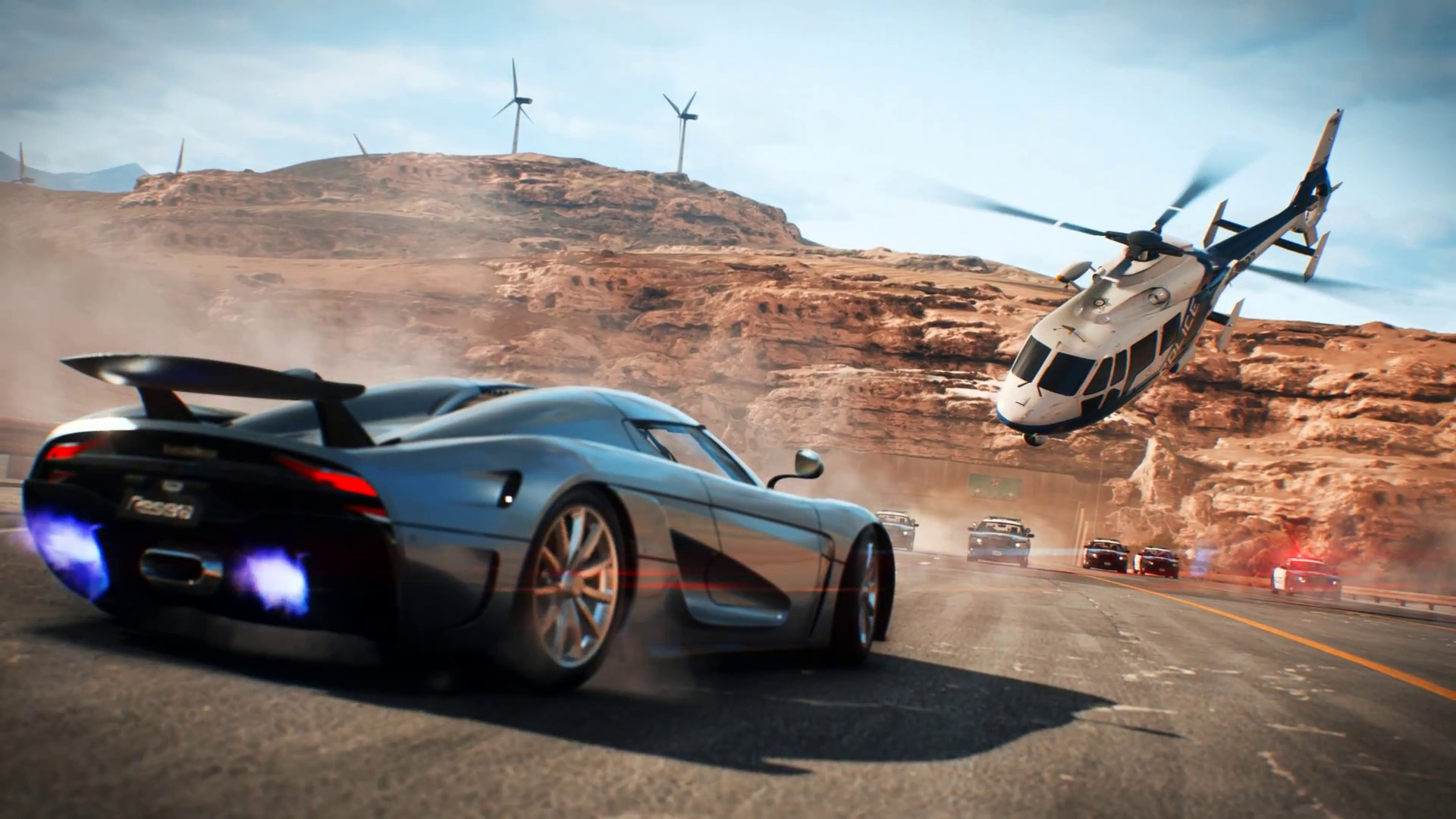 Need for Speed Payback's story is about what you'd expect screenshot