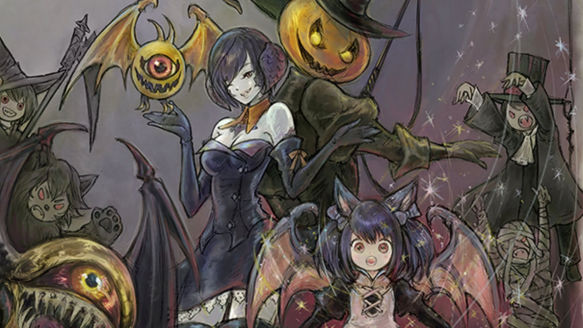 Ffxiv 2020 Halloween Final Fantasy XIV is kicking off its Halloween themed All Saints