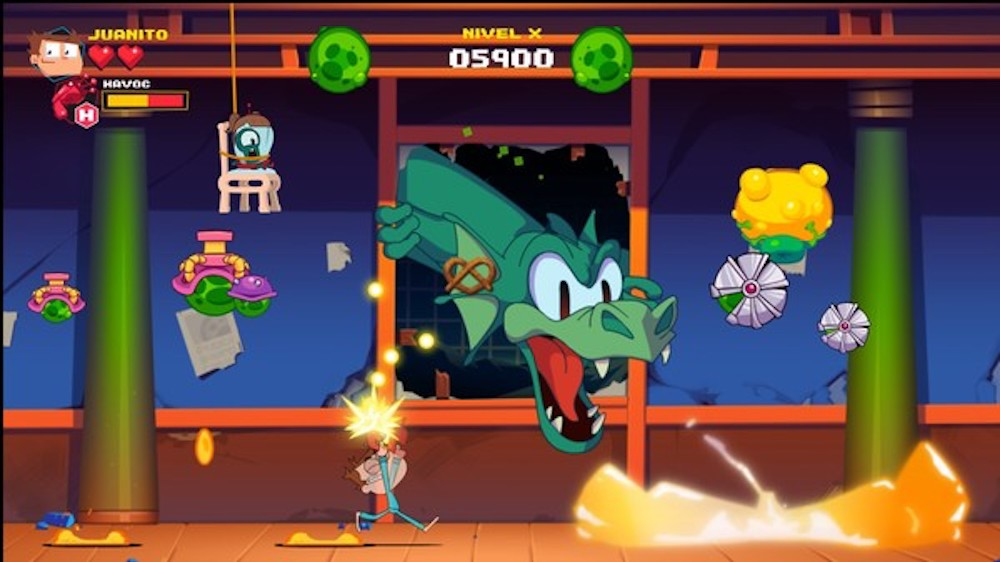 How to get the Destructoid achievement in Juanito Arcade Mayhem screenshot