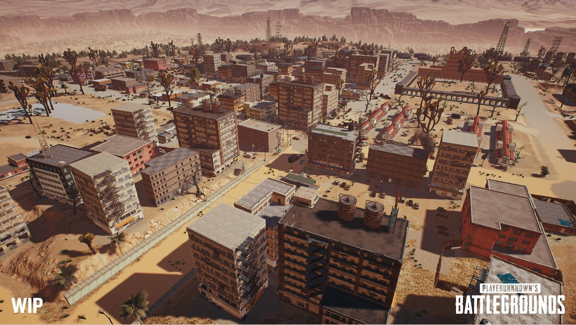 PUBG's desert map won't be fully available until the game properly launches later this year screenshot