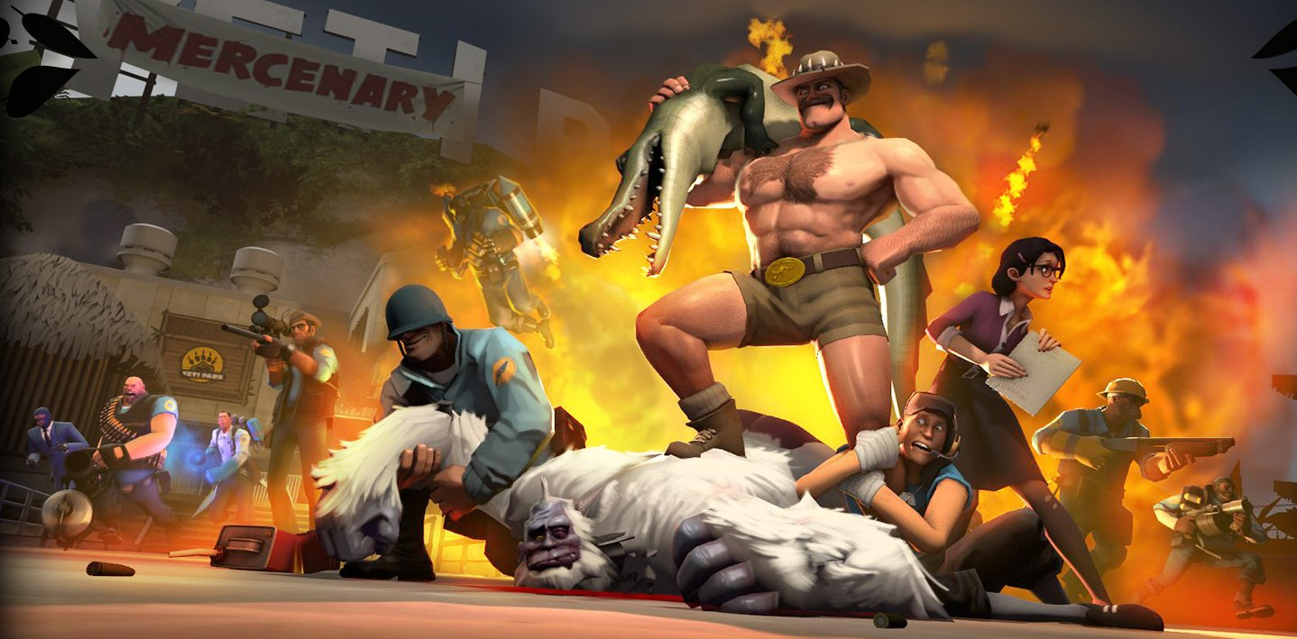 Team Fortress 2 prepares for a major update with an animated short screenshot
