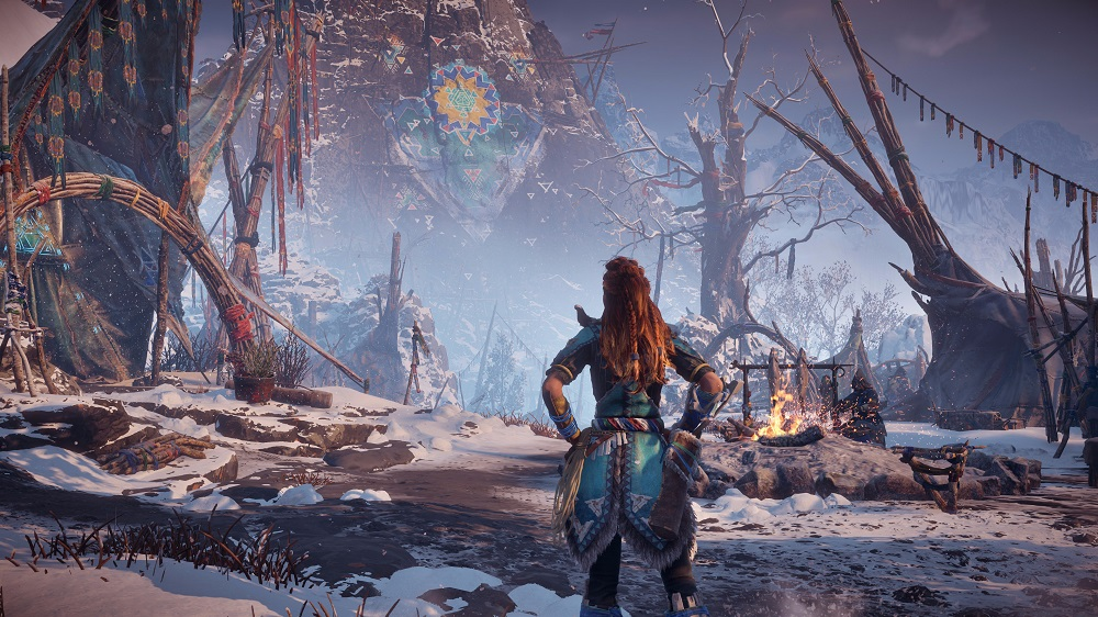 Wrap Up For These Horizon: Zero Dawn - The Frozen Wilds Screens