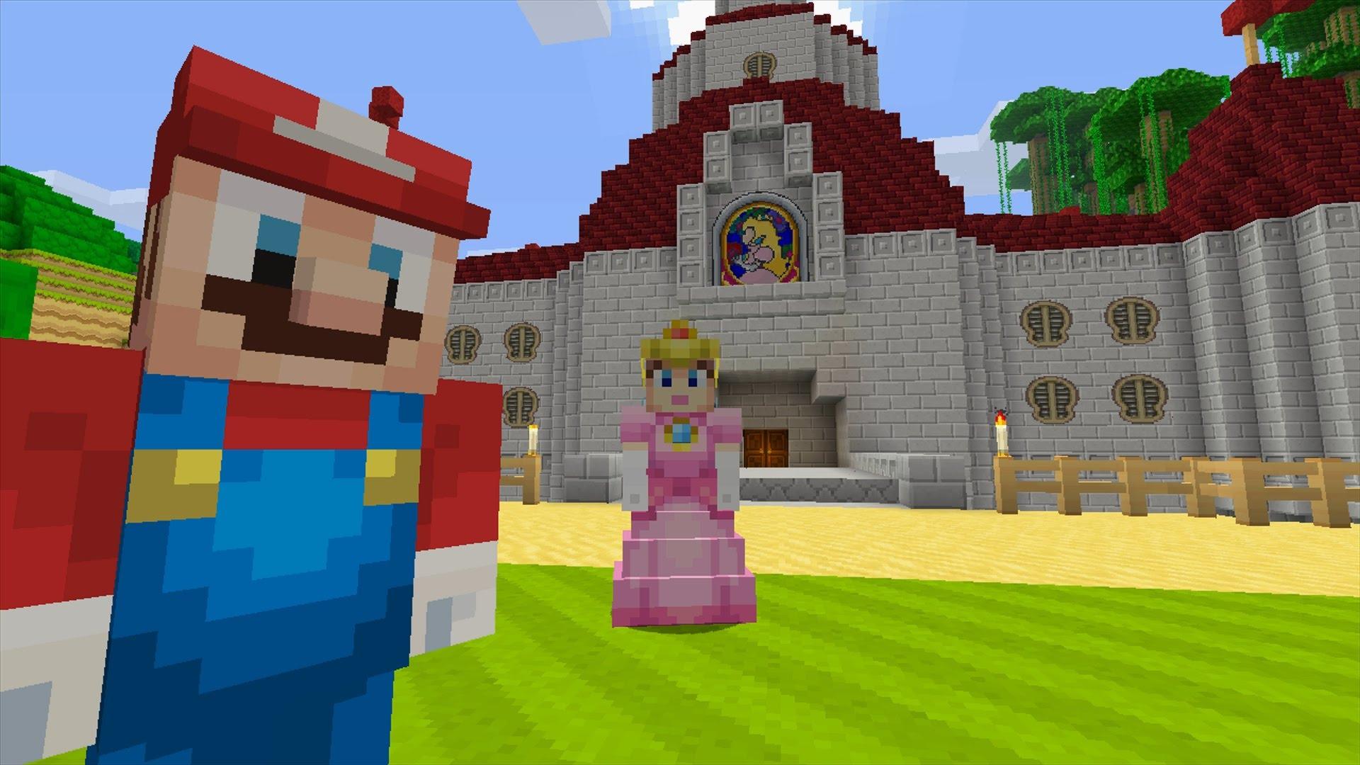 Minecraft Spielen Deutsch Skins Para Minecraft Wii U Edition Bild - Minecraft wii spielen