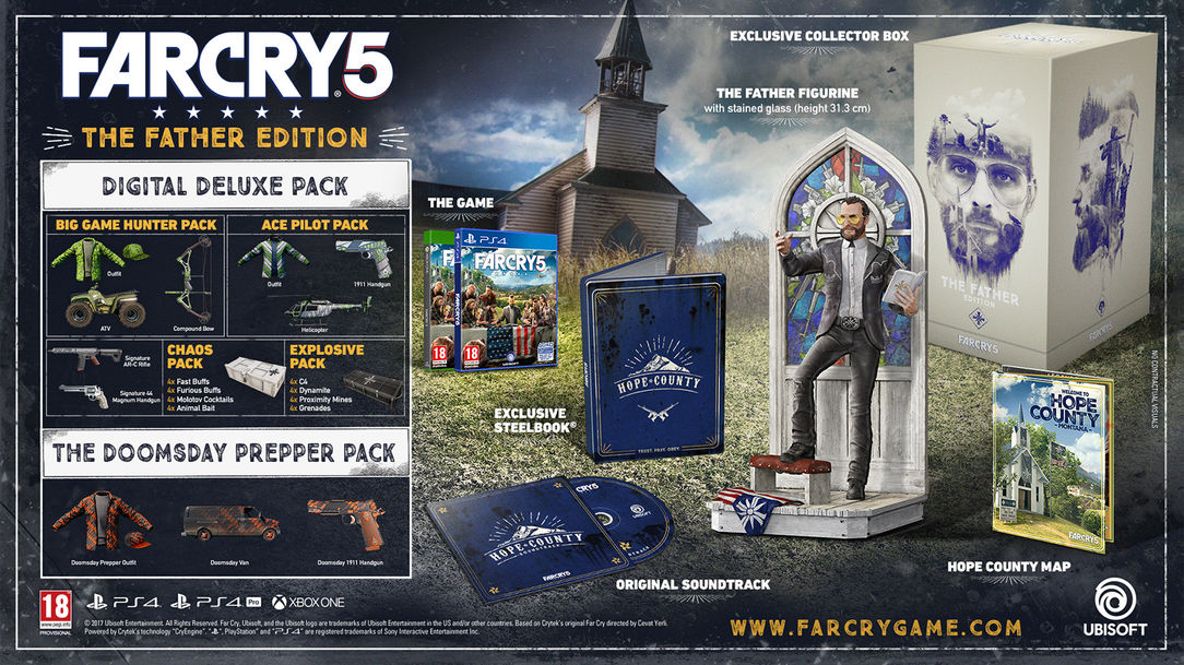 Why Not Spend 200 On A Far Cry 5 Collector S Edition At Gamestop