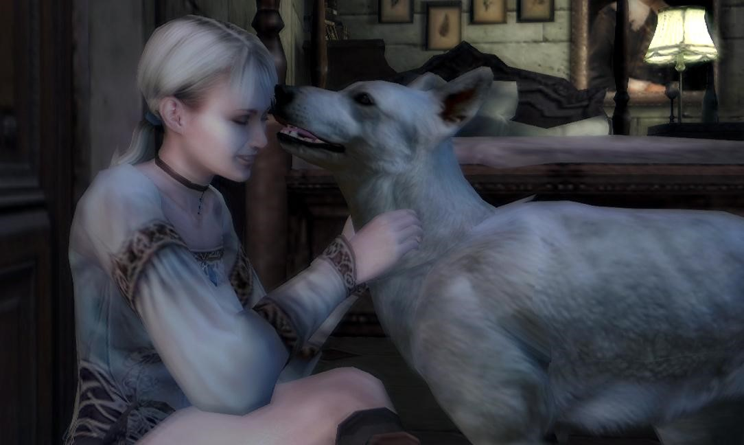 Traveller in Playtime: Haunting Ground screenshot