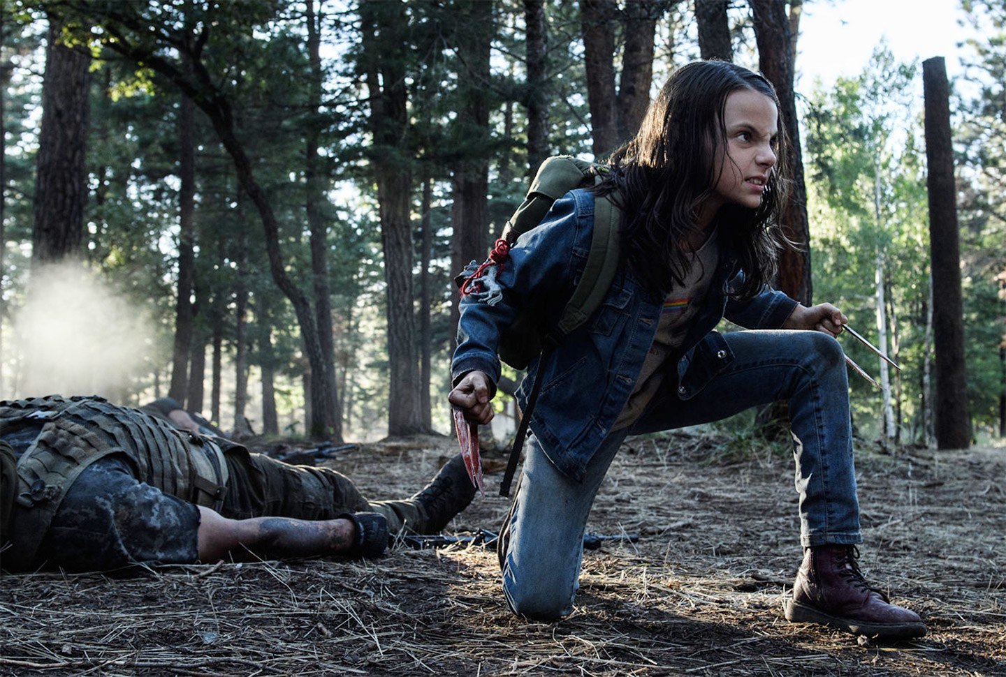 A Logan spinoff script is in the works for Dafne Keen's Laura screenshot