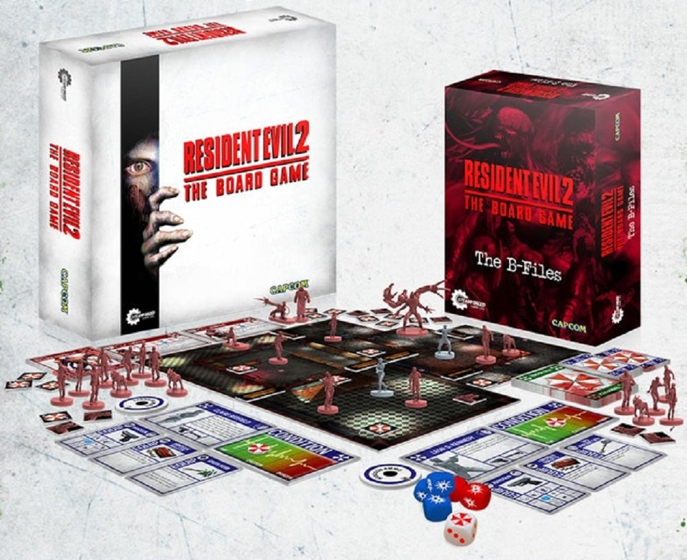Resident Evil 2 board game completes crowd-funding screenshot