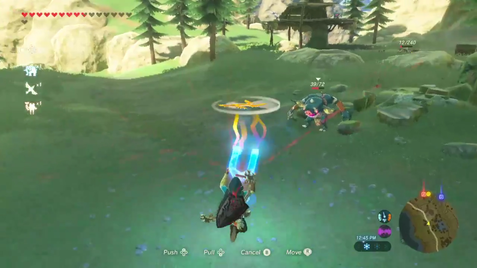 Hold on, Breath of the Wild lets you do that?! screenshot