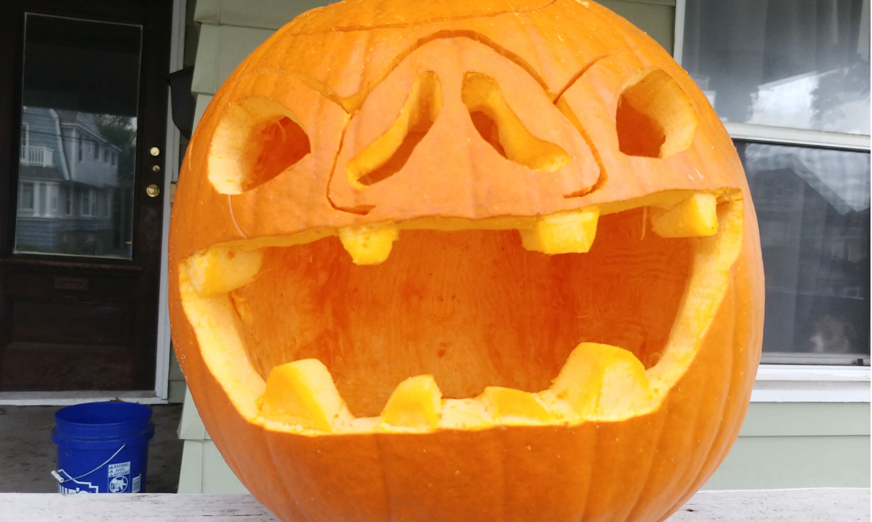 Are you crafting any spooky pumpkins this year like this Bokoblin-o-lantern? screenshot