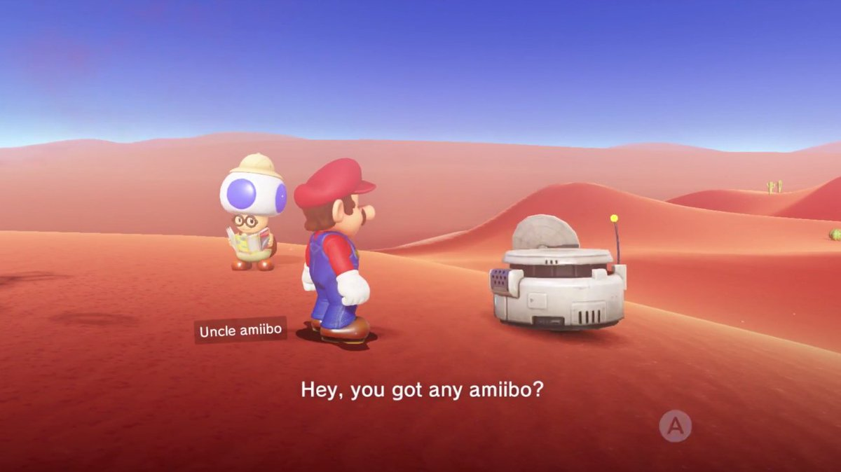 Guide: Here's how amiibo work in Super Mario Odyssey screenshot