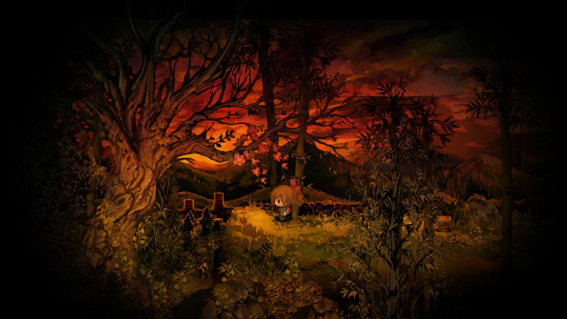 Review: Yomawari: Midnight Shadows screenshot
