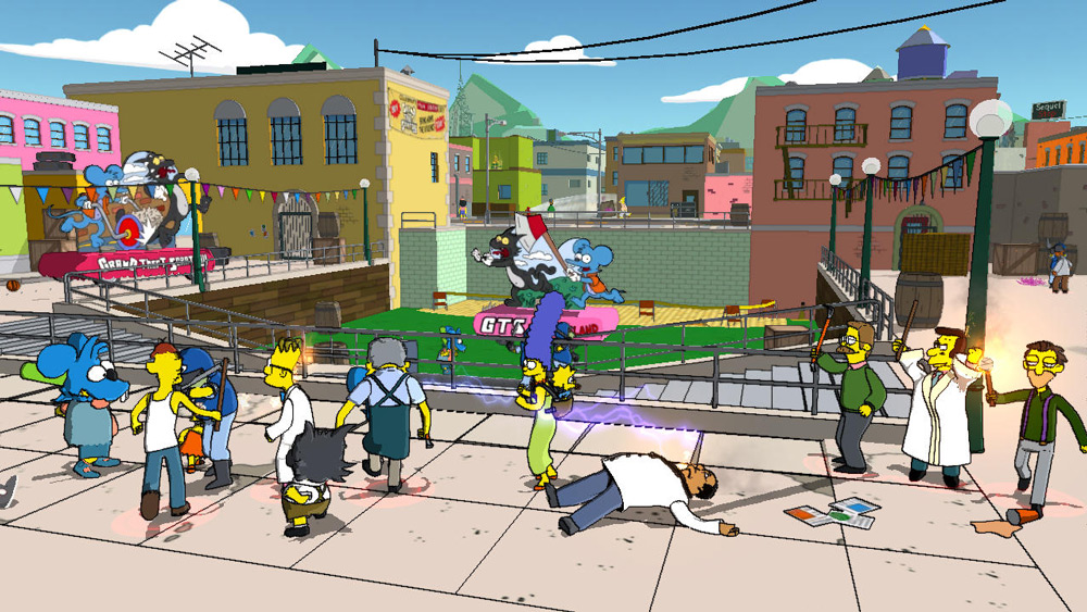 Should EA make another console Simpsons game? screenshot