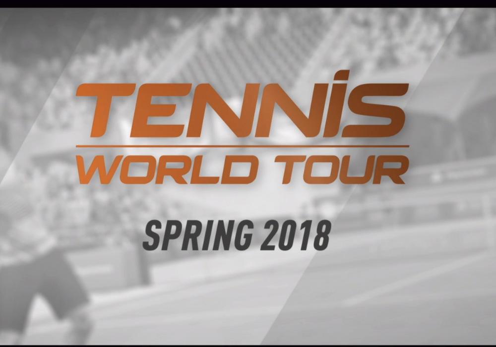 Tennis World Tour hits PS4 next spring screenshot